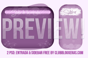 PSD de Post y Sidebar by clubbloggeras