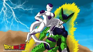 Frizea vs Cell by Raineylamont