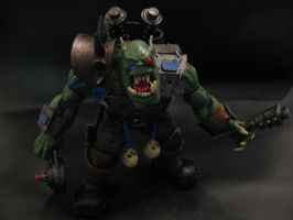 warhammer 40k custom ork 2 by soulbrother73