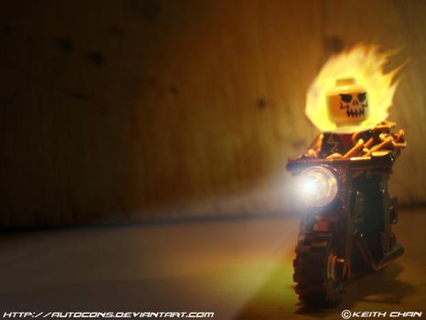 LEGO Ghost Rider by Autocons