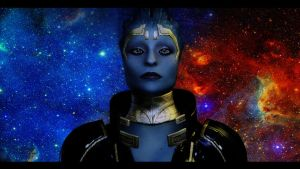 Mass Effect 2 Samara 3 by AgataFoxxx