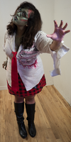 Zombie School Girl 22 by Angelic-Obscura