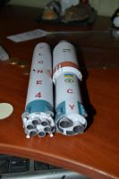 Cyclone-4 paper model by BHAAD