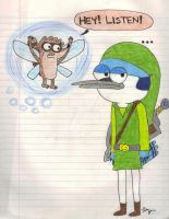 Adventure of Mordecai by Fab-912