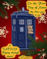on the first day of geek christmas... by monakaliza