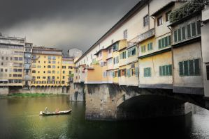 The Old bridge (Ponte Vechio) in Florence by Rubensphoto