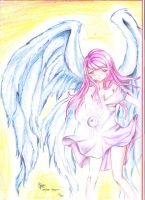 Fallen Angel by fairytaillovers