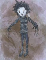 Little Edward Scissorhands by Debra-Marie