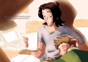 Here with me by KamiDiox