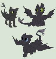 HTTYD Base 66~Nightfury 46~ by Xbox-DS-Gameboy
