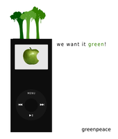 we want it green -v2- by m0r1Z
