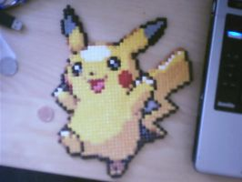 Hama Pikachu by tony-boi