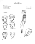 Mikah Character sheet 1 by timestoneauthor203