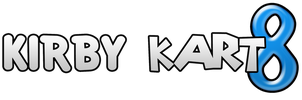 Kirby Kart 8 Logo by KingAsylus91