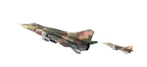 Mig-27 - AIrplane - Png Resources by rOEN911