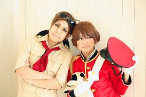Hetalia:Australia and New Zealand-1 by azuooooo