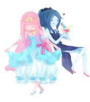 AT~girls' time by RiceDumplings