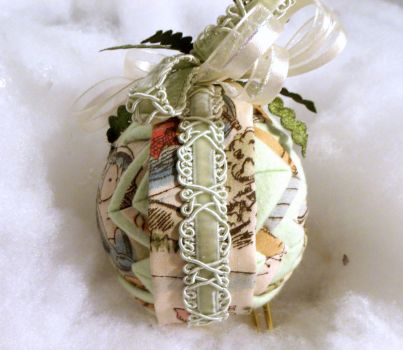 Eeyore handmade quilted ornament 4 by Chrissie1370