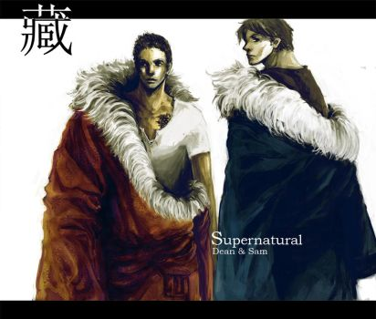 Dean and Sam in Tibet suit by wuyemantou