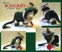 Boggart as Snape Pony by SalliCostumer