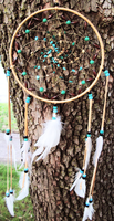 DreamCatcher Turquoise PictureJasper and Malachite by xsaraphanelia