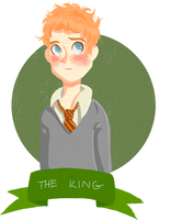 Ron Weasley. by letrobini