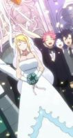 Natsu and Lucy -Wedding Day by MelikeCan