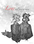 Love Will Keep Us Warm by theInkMenagerie