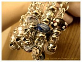 Braccialetti con charms Bracelets with charms 6 by FrancescaBrt