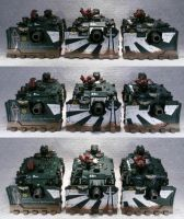 Dark Angels Line Breaker Squadron by Elmo9141