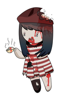 Animeche as Zombie by animeche