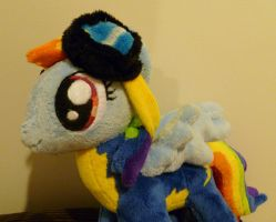 Wonderbolts Rainbowdash by caashley