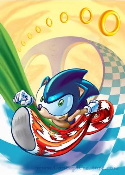 Sonic the Hedgehog by concept-creature