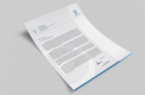 Corporate Letterhead vol.23 with MS Word DOC/DOCX by nazdrag