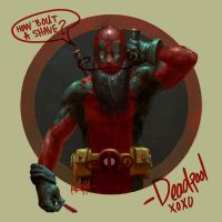 Super Movember: Deadpool by JamesBousema