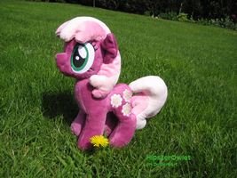 Handmade Miss Cheerilee Plushie by HipsterOwlet