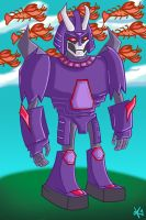 Rescue Bots Cyclonus and his Armada by TheButterfly