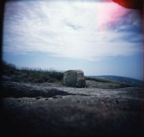 Top of Cadillac Mtn. by Dreams-Made-Flesh