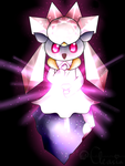 Pokemon the movie 17th - Diancie by Cleasia