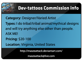 Maszeattack Commission ID by Maszeattack