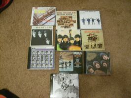 All my Beatles albums by vampire8462