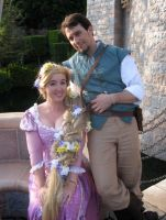 Rapunzel n Flynn Rider Cosplay by aimeekitty
