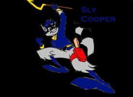 Sly Cooper by Murdoc2D