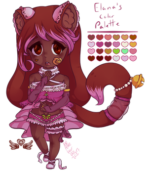 Elana the Dancer (Chibi Kitty) by AliceRandaLee