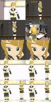 Vocaloid comic - Funny Rin and Len by Sweetgirl333