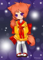 Fox Girl for diaboso by haine905