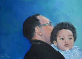 Mehari and son by Buble