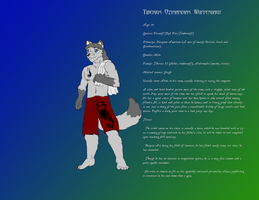Character Spotlight - Tiberius by SuperSEGAFan