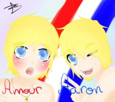 Amour and Aaron by TokitaCullen