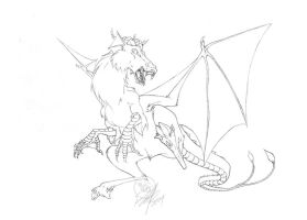 Jersey Devil tight pencils by Bee-chan